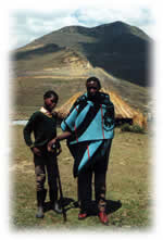 boy and man in Lesotho