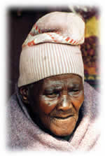 older person in Lesotho