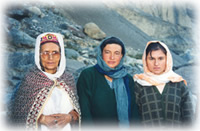 women in Shimshal, Pakistan